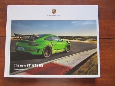 Porsche 911  991 GEN II GT3 RS Hardcover US Dealer Brochure/Book 116 pages NEW