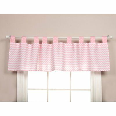 Trend Lab Sky Window Valance, Pink NEW IN PACKAGE
