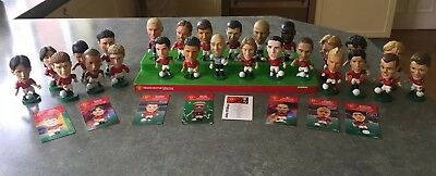 Corinthian Manchester United Players Bundle Rare 20+ some cards CANTONA RONALDO
