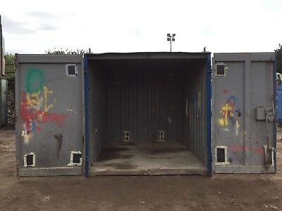 10ft Storage Container Shipping Container Anti Vandal Steel