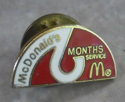Collector Pin McDonalds 2 Months of Service #131