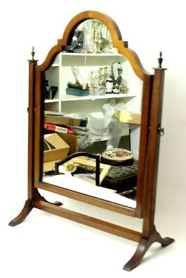 Antique Victorian Mahogany Dressing Table Swing Mirror - FREE Shipping [PL4583]