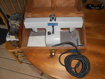 Colight Model 935 Optical Comparator Wood Box