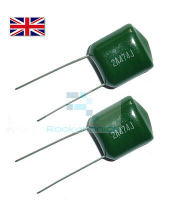 Polyester Film Capacitor 250V Rate - Values between 3.9NF - 47NF - Free Post