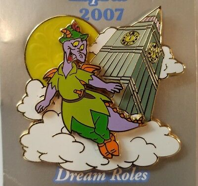Disney Pin Le Figment Figment Dressed As Peter Pan Where Dreams Happin Wdw 2007