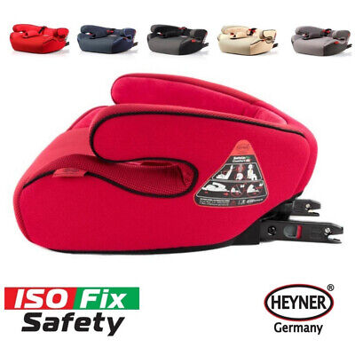 Quality child car booster seat with Isofix JUNIOR 3 group  22-36kg HEYNER German