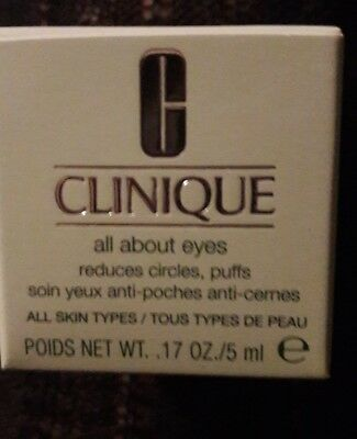 Clinique - All about eyes  - NEU - OVP - Augencreme