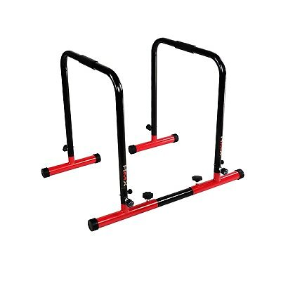 Fitness Chin Up Dip Parallel bars Paralette Stand Push Equaliser Cross Training
