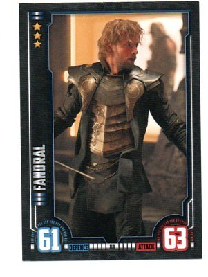FANDRAL Hero Attax Marvel Cinematic Universe card #118 Thor