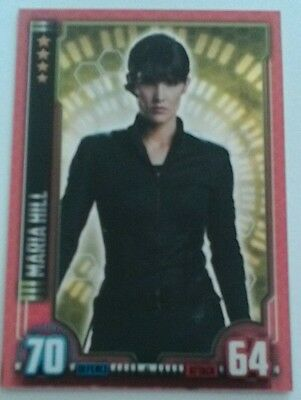 MARIA HILL Hero Attax Marvel Cinematic Universe mirror foil #41 Avengers
