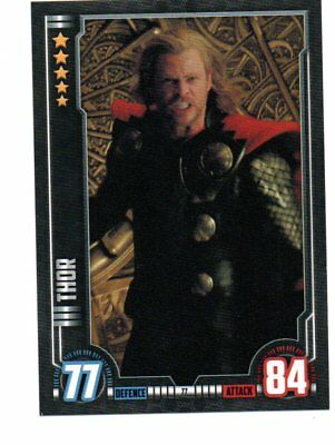 THOR Hero Attax Marvel Cinematic Universe card #77 Thor