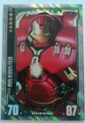 HULKBUSTER Hero Attax Marvel Cinematic Universe holographic foil #10 Avengers