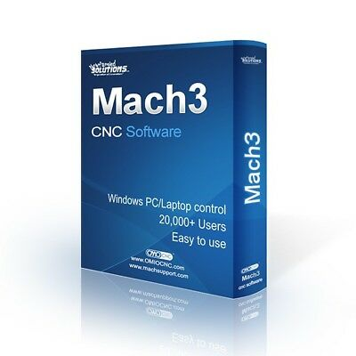 MACH 3 SOFTWARE Full version CNC Milling Laser cutting