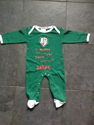 London Irish (Rugby) Baby Sleepsuit - 3-6 Months