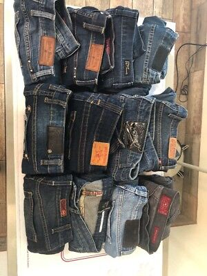 Reseller Lot:  12 Designer Women's Jeans Mixed Sizes- Lot #1