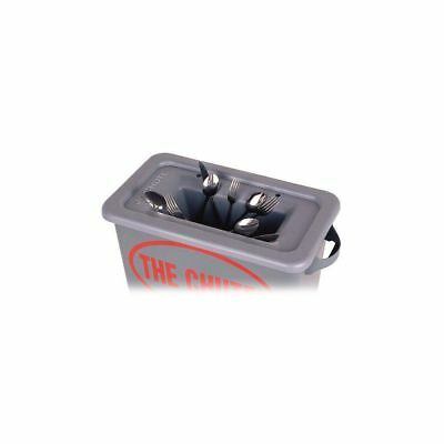 Golden West 2318 The Chute Gray Flatware Trap For 23 Gal. Containers