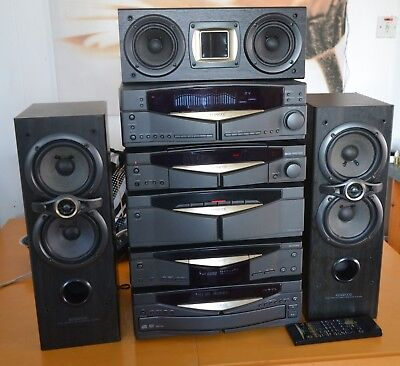 Kenwood Series 21 stack hifi with centre & front speaker system stunning quality