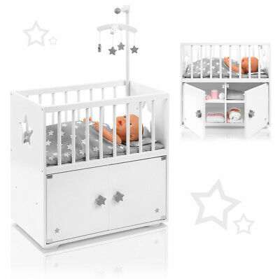 howa puppenwickeltisch wickelkommode puppen stars aus. Black Bedroom Furniture Sets. Home Design Ideas