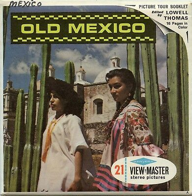 OLD MEXICO - Classic ViewMaster - 3 Reel Packet -B006-S6A