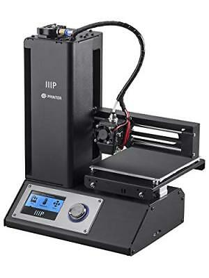 Monoprice Select Mini 3D Printer V2 - Black with Heated (120 mm) Build Plate {