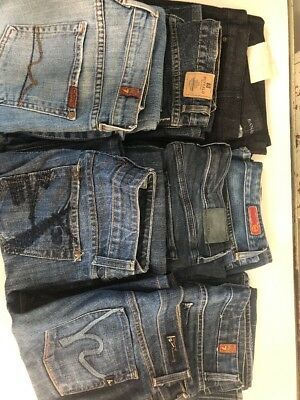 Reseller Lot:  8 Designer Women's Jeans Mixed Sizes- Lot #2