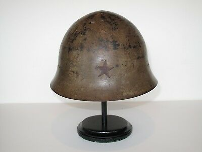 wwii japanese helmet with star