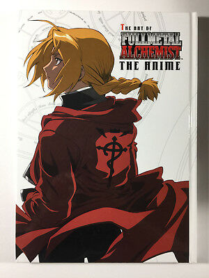 The Art of FullMetal Alchemist Anime, Artbook, 2006--USED