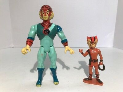 Vintage Thundercats Young Tygra With Wilykat Action Figure LJN 1985