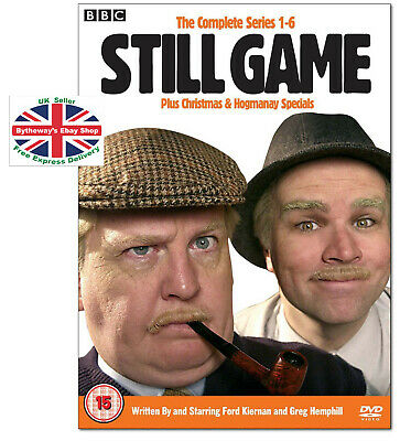 STILL GAME - The Complete Series 1-6 DVD Box Set *BRAND NEW*