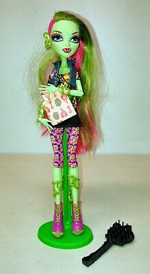 Monster High Venus McFlytrap - Doll with stand and accessories - First Wave!
