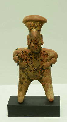 Pre Columbian NAYARIT pottery standing abstract figure