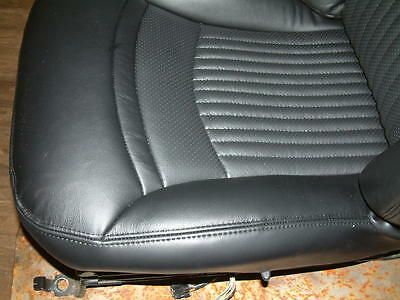 Corvette C5 Driver Replacement Cushion Black Leather Cover Only