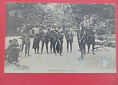 Carte Postale Ancienne Datee 1911   Guinee Francaise       Bassaris