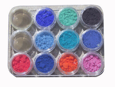 Color Changing Thermochromic Slime Goo Sampler Kit 11 colors pigment powder heat