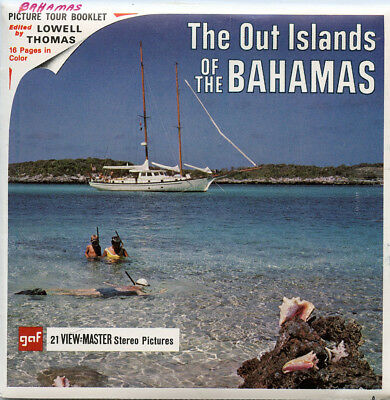 The Out Islands of the Bahamas - Classic ViewMaster - 3 Reel Packet -B028-G1