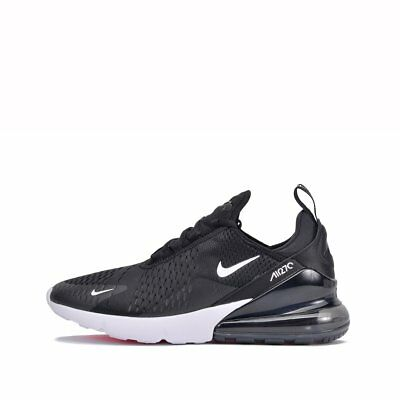 New Men's Nike Air Max 270 Black/White/Solar Red/Anthracite AH8050-002