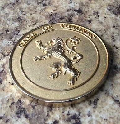 Game Of Thrones Military Challenge Coin Medal