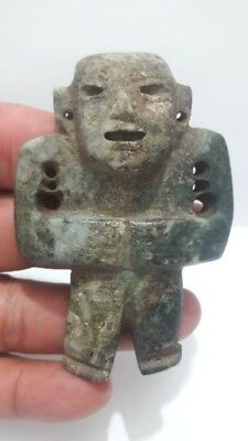 Pre-Columbian Olmecoid figure from Mexico. 400 bc.