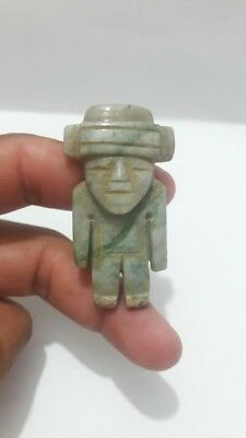 Pre-Columbian Teotihuacan Stone Figure from Mexico. Ca. 600 ad.