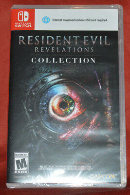 BRAND NEW! Resident Evil Revelations Collection Nintendo Switch Factoy Sealed!