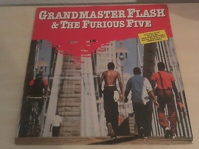 Grandmaster Flash & The Furious Five, Same, Sugarhill Records 1983