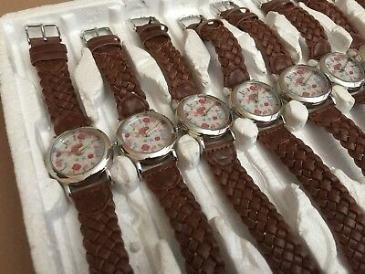 job lot wholesale 10  x Spirit flower watches RRP £150 + CLEARANCE STOCK