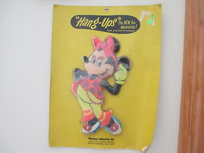 "Vtg Walt Disney Productions ""HANG-UPS"" Minnie Mouse Norman Industries        NIP"
