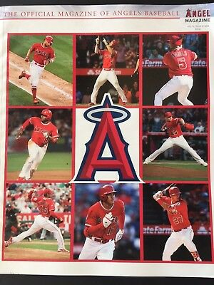 2018 Angels Baseball Yearbook Magazine 216 Pgs Ohtani Trout Pujols World Series?
