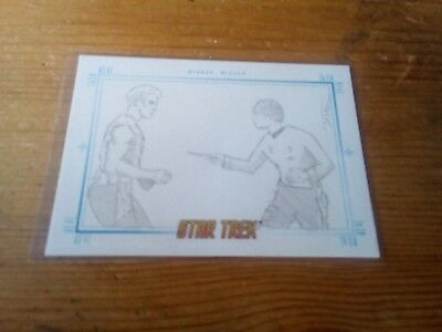 Star Trek Tos Portfolio Prints Sketch Card By Justin Chung Of Mirror Mirror