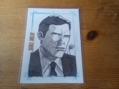 Star Trek Tos Portfolio Prints Sketch Card By Brian Kong Of Assignment Earth
