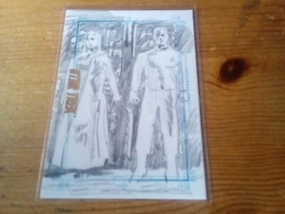 Star Trek Tos Portfolio Prints Sketch Card By Dan Day Of Turnabout Intruder