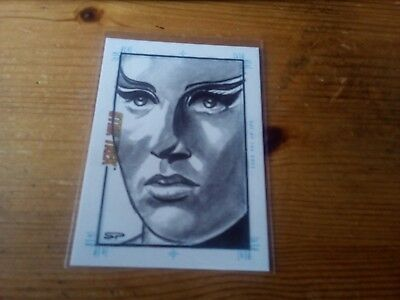 Star Trek Tos Portfolio Prints Sketch Card By Sean Pence Of Day Of The Dove