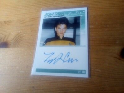 Star Trek Tng Portfolio Prints Series Two Autograph Card Of Tracee Cocco