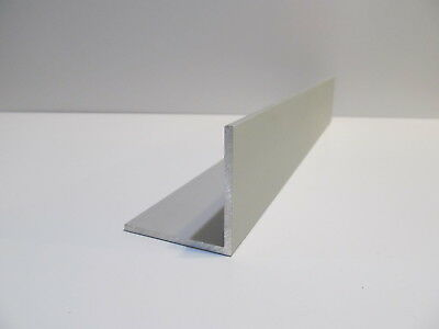 "NEW (8) pcs. 2"" X 2"" X 1/8"" X 16"" Long Satin Anodized Aluminum Angle Extrusion"